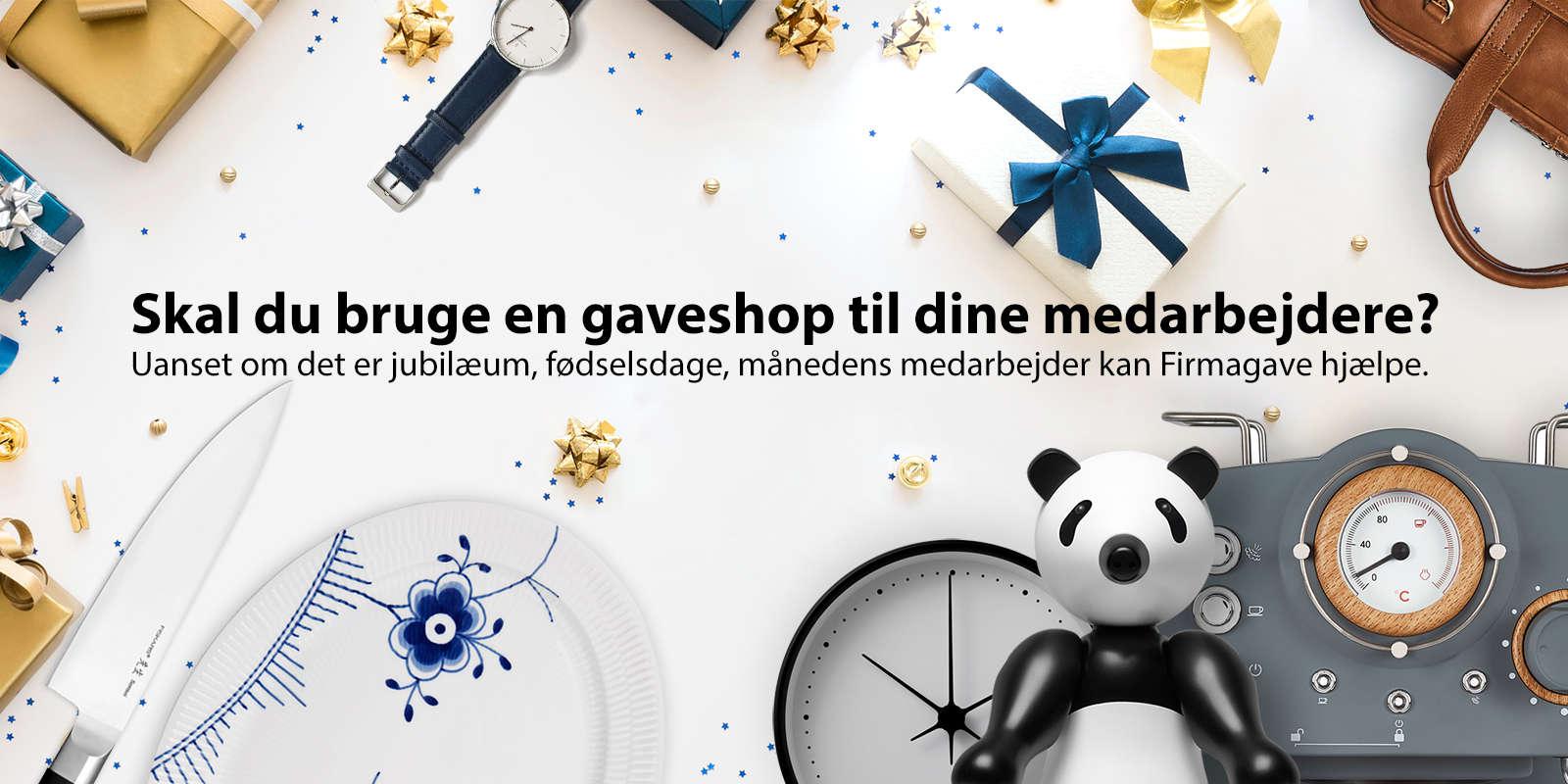 Køb en gaveshop hos Firmagave Shop